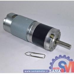 موتور گیربکس 24 ولت 100 دور خورشیدی GXA36R-24-100RPM